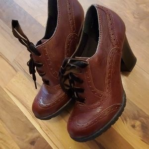B.O.C. BOOT SHOES. BROWN